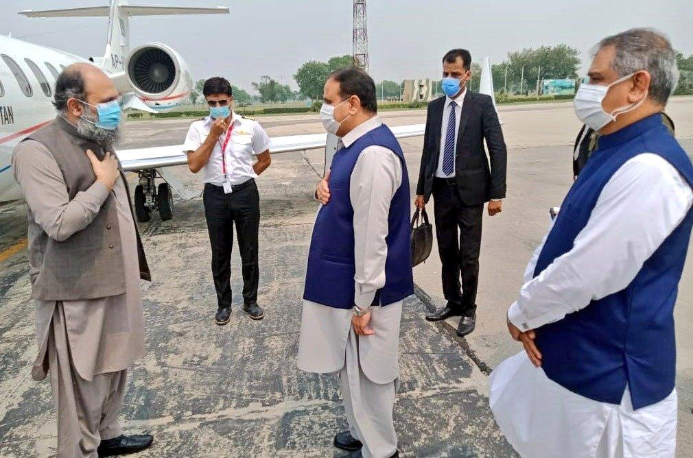 وزیراعلیٰ پنجاب سے جام کمال کی ملاقات ، کورونا سے نمٹنے کیلئے اقدامات پر اتفاق