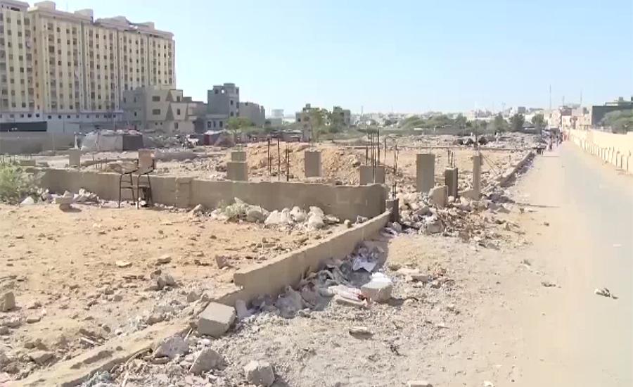 کراچی میں زمینوں پر قبضہ کرنیوالی مافیا پھر بے لگام ہو گئی