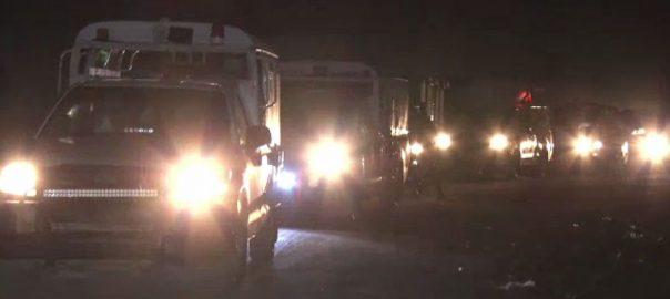 کراچی ، علاقوں ، رینجرز ، پولیس ، کومبنگ آپریشن ، مشتبہ افراد ، بائیو میٹرک ، تصدیق