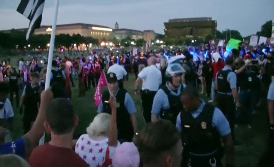 امریکا کا 244 واں جشنِ آزادی کورونا اور نسل پرستی کیخلاف احتجاج میں منایا گیا