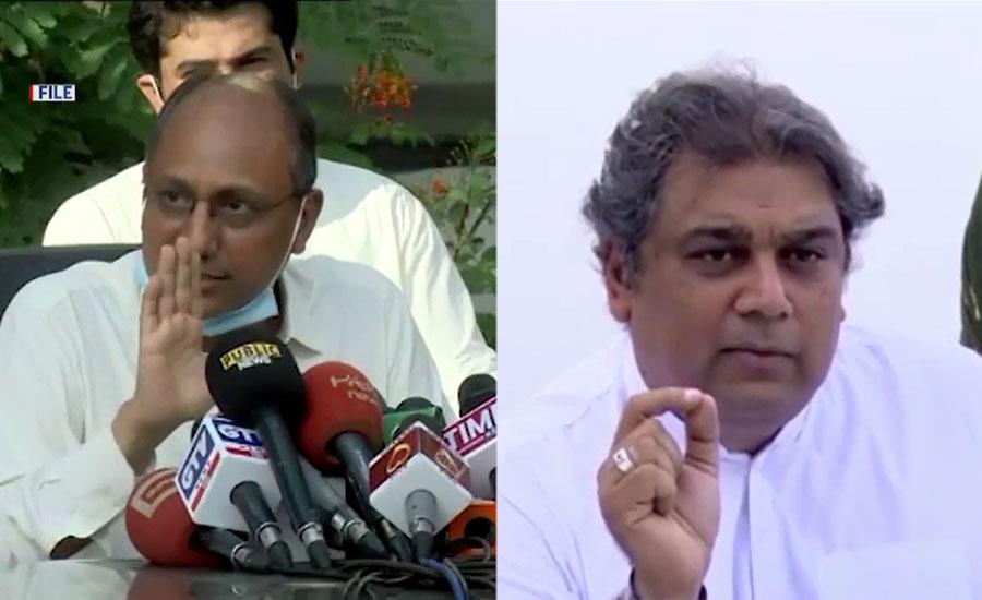 علی زیدی اور سعید غنی کی ٹویٹر پر لفظی جنگ