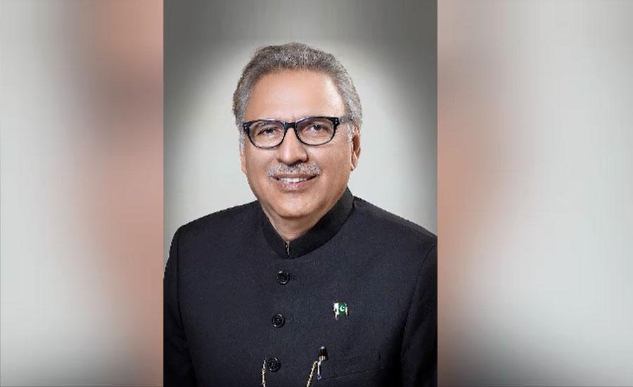 ملزم عابد ملہی کی گرفتاری پوری قوم کیلئے سکھ کا باعث ہے، صدر عارف علوی