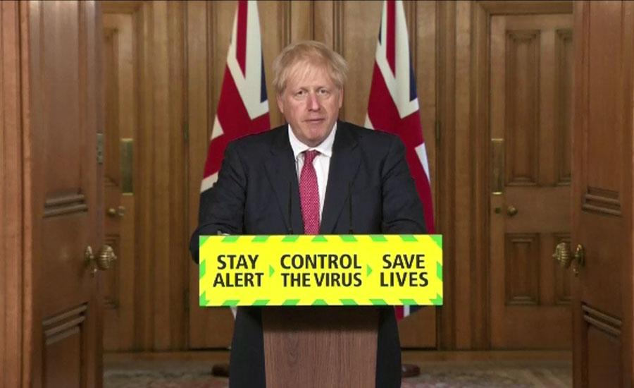 برطانوی وزیراعظم بورس جانسن دسمبر میں کورونا کے اثرات سے نکلنے کیلئے پُرامید