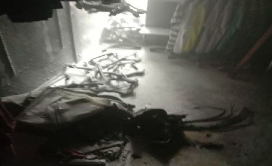 لاہور میں داتا دربار کے قریب عمارت گر گئی