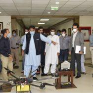پاکستان ، کیڑے مار دوا ، اسپرے ، زراعت ڈرون تیار ، فواد چودھری ، ٹویٹ ، اسلام آباد ، 92 نیوز