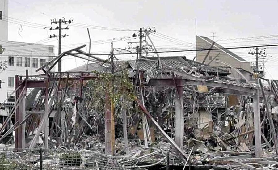 فوکو شیما میں دھماکہ ، ایک شخص ہلاک، 17 زخمی