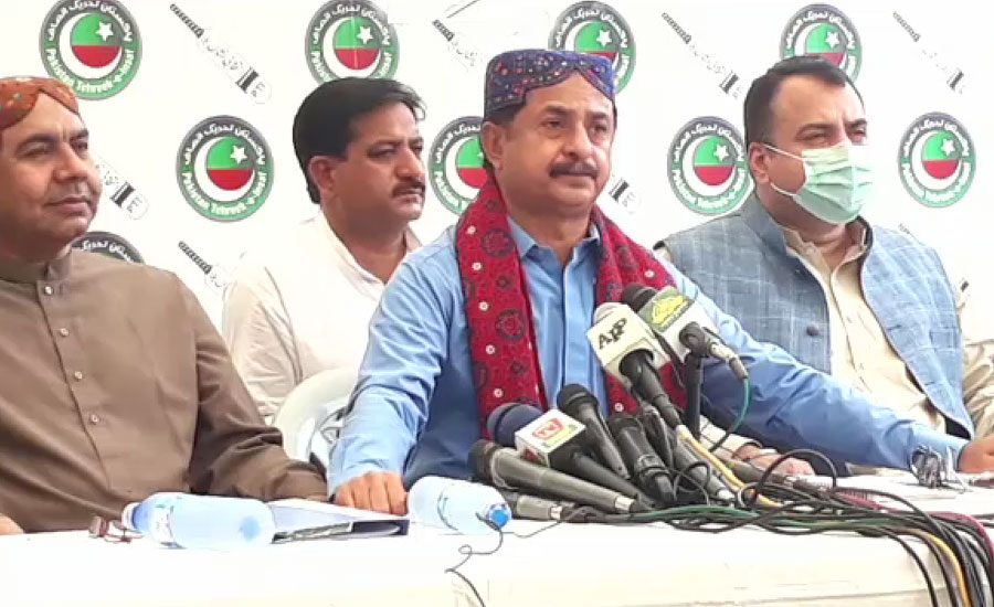 پی ٹی آئی سندھ کا فضل الرحمٰن کے بھائی کی ڈی سی سینٹرل تعیناتی پر عدالت جانے کا اعلان