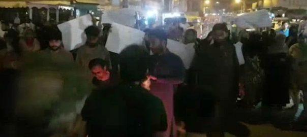 حیدرآباد ، علاقے ، فقیر کاپڑ ، لوڈ شیڈنگ ، ستائے ، باسی ، رات ، سڑکوں
