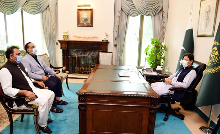 وزیراعظم سے گورنر سندھ کی ملاقات ، کراچی سمیت صوبے کے معاملات پر تبادلہ خیال