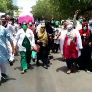 کراچی، کنٹرکٹ پر بھرتی نرسز ، ملازمت مستقل ، وزیراعلیٰ ہاؤس ، احتجاج ، کراچی ، 92 نیوز