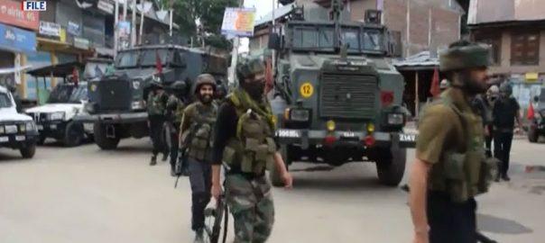 مقبوضہ کشمیر ، بھارتی ریاستی دہشتگردی ، 3 کشمیری نوجوان شہید ، سری نگر ، 92 نیوز