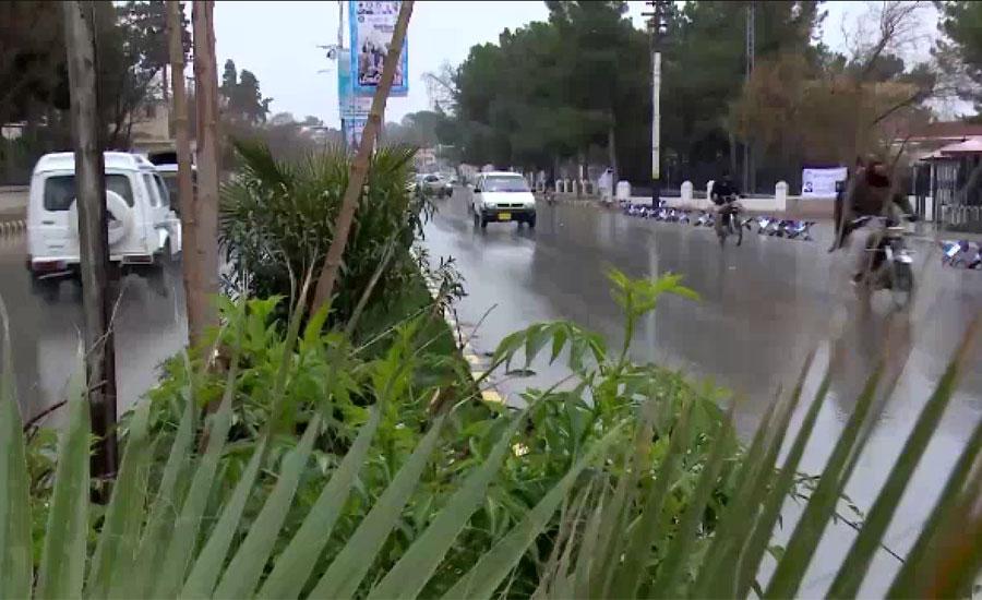 کراچی میں کل رات سے پھر موسلادھار بارشوں کا امکان