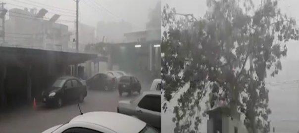 لاہور ، علاقوں ، موسلا دھار ، بارش
