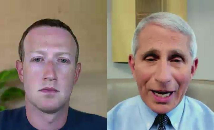 سی ای او فیس بک نے صدر ٹرمپ پر تنقید کے نشتر برسا دیئے