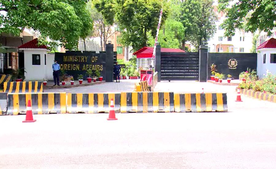 ایل او سی فائر بندی خلاف ورزیوں پر بھارتی سینئر سفارتکار کی دفتر خارجہ طلبی