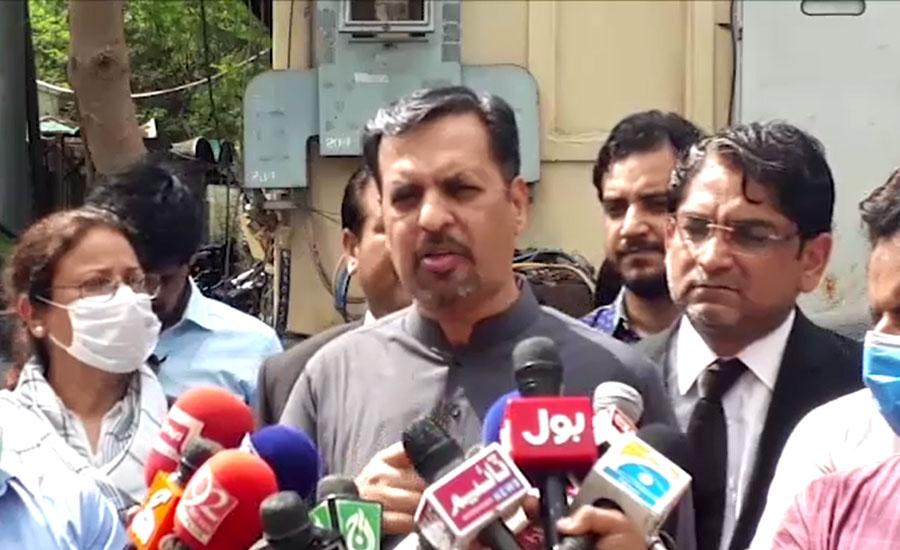 کراچی کو تباہ کرکے تقسیم کرنے کی سازش کی جارہی ہے، مصطفیٰ کمال