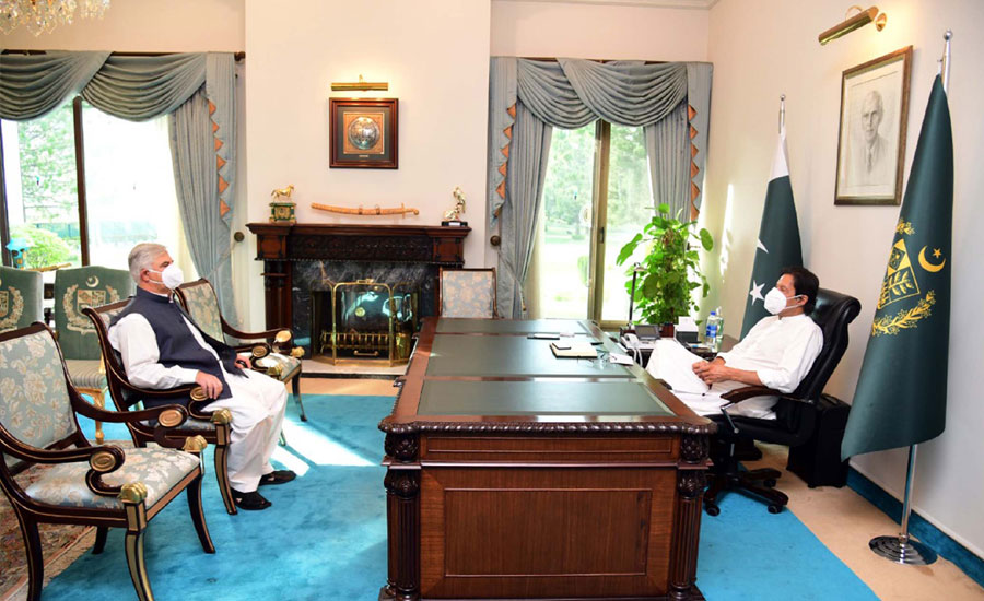 وزیر اعظم سے محمود خان کی ملاقات، خیبر پختونخوا کی مجموعی صورتحال پر تبادلہ خیال
