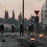 یونان ، احتجاجی مظاہروں ، روکنے ، قانون سازی ، پُرتشدد ، احتجاج