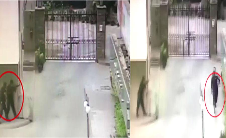اسٹاک ایکسچینج حملے کی ایک اور سی سی ٹی وی 92 نیوز کو موصول