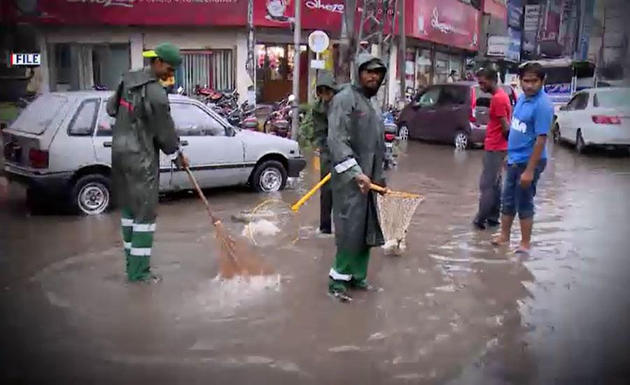 محکمہ موسمیات کا 20 فیصد زیادہ بارشوں کا دعویٰ، واسا لاہور کی تیاریاں مکمل