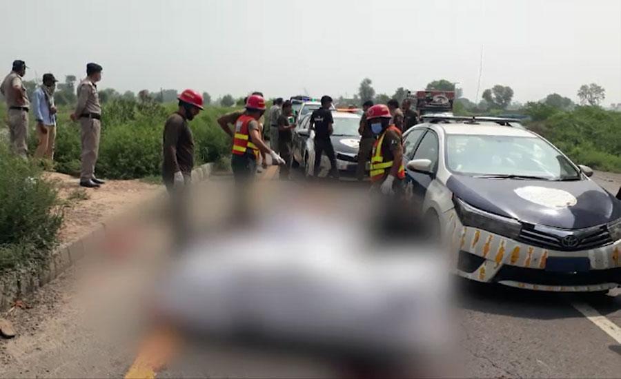 رینالہ خورد، ٹرک کی موٹر سائیکل کو ٹکر، 5 افراد جاں بحق