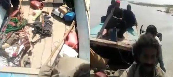 رحیم یار خان ، ڈاکو ، پولیس ، وارننگ ، دھمکیاں ، ویڈیو ، وائرل