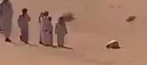 سعودی عرب ، روح پرور ، واقعہ ، شہری ، سجدے ، میت