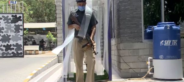دو دن ، سندھ پولیس ، 171 اہلکار اور افسران ، کورونا کا شکار ، کراچی ، 92 نیوز