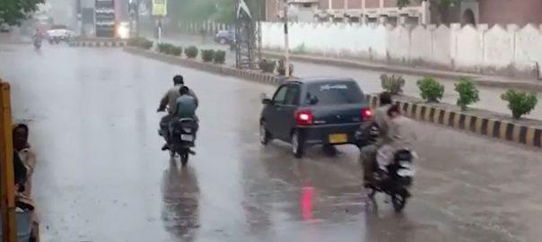 اندرون سندھ ، کئی شہروں ، بادل برس پڑے ، موسم خوشگوار ، کراچی ، 92 نیوز