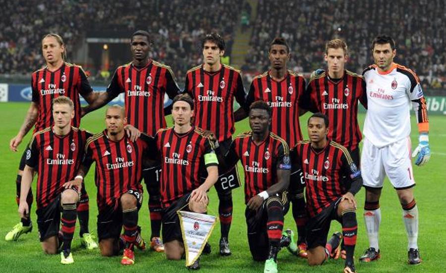 اٹالین فٹبال لیگ ،یووینٹس  کو اے سی میلان کے ہاتھوں شکست
