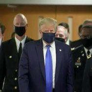 بلآخر ، صدر ٹرمپ ، کورونا سے بچائو ، ماسک پہن لیا ، واشنگٹن ، 92 نیوز