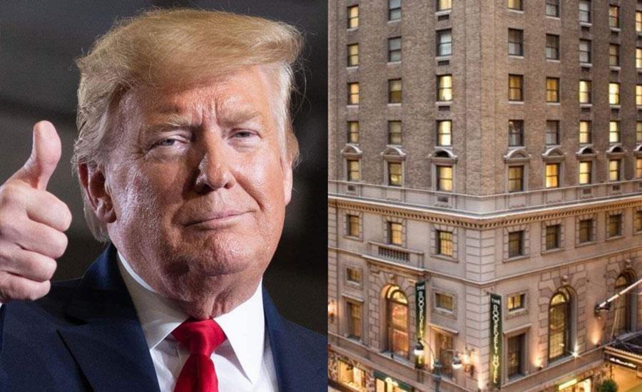 صدر ٹرمپ کا نیویارک میں پی آئی اے کی ملکیت روزویلٹ ہوٹل خریدنے میں اظہار دلچسپی