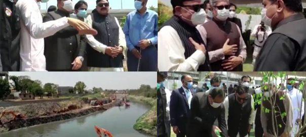 وزیر اعلیٰ پنجاب ، راولپنڈی ، شہر ، دورہ ، پنجاب ہارٹیکلچر اتھارٹی ، شجرکاری مہم ، شرکت