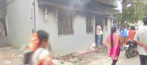 بنگلور ، توہین آمیز پوسٹ ، احتجاج ، بھارتی پولیس ، فائرنگ ، 3 مسلمان جاں بحق ، 100 سے زائد گرفتار ، 92 نیوز