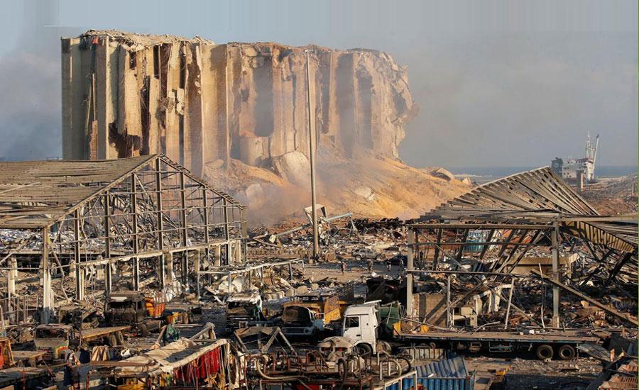لبنان دھماکے، اموات 135 ہوگئیں، 5 ہزار سے زائد زخمی ، 3 لاکھ بے گھر