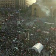 سانحہ بیروت ، لبنانی حکومت ، ہزاروں افراد ، سڑکوں پر نکل آئے ، 92 نیوز