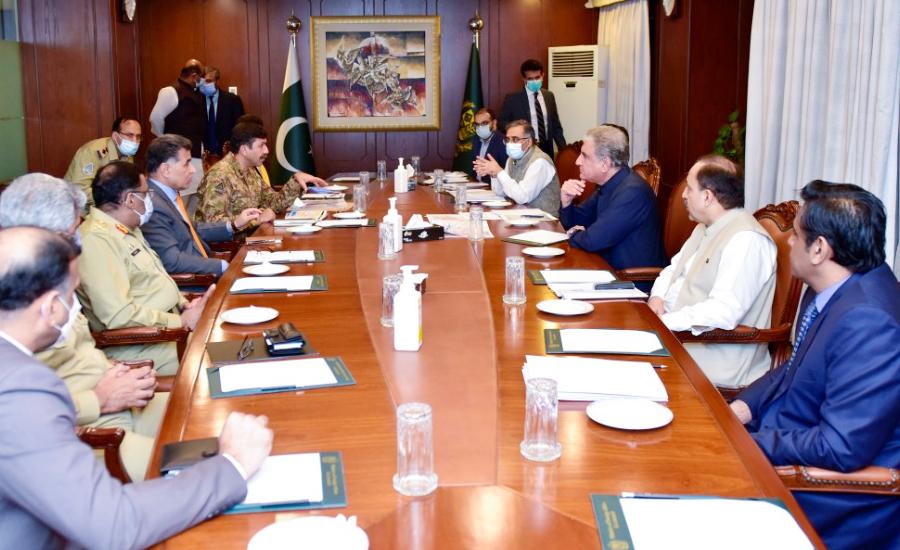 یوم استحصال کی تیاریوں سے متعلق وزارت خارجہ میں اعلیٰ سطح کا اجلاس