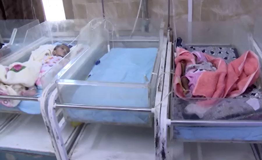 حیدرآباد کے تمام سرکاری اسپتال بچوں کے وینٹی لیٹرز کی سہولت سے محروم