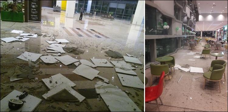 نیو اسلام آباد ایئرپورٹ کی تعمیر میں ناقص میٹریل کے استعمال کا پول کھل گیا
