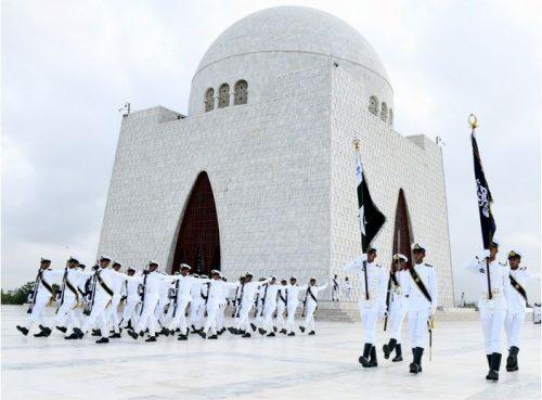 پاک بحریہ ، پاکستان ، 73 واں ، جشن آزادی ، روایتی ، جوش و جذبے