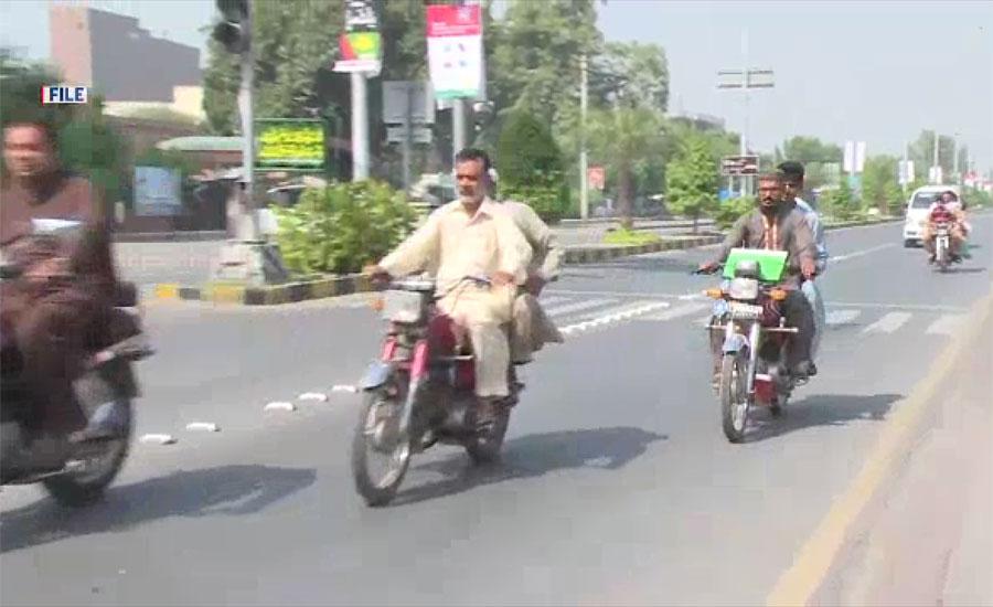 محرم الحرام کا آغاز ، پشاور میں ڈبل سواری پر پابندی عائد