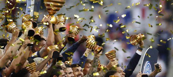 پیرس سینٹ جیرمین ، فرنچ فٹبال لیگ کپ ، ٹائٹل ، سر سجا لیا ، پیرس ، 92 نیوز