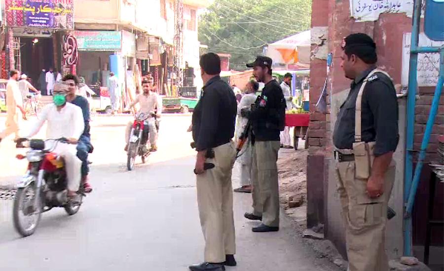 پشاور ، محرم الحرام میں امن و امان برقرار رکھنے کیلئے سخت ترین حفاظتی اقدامات