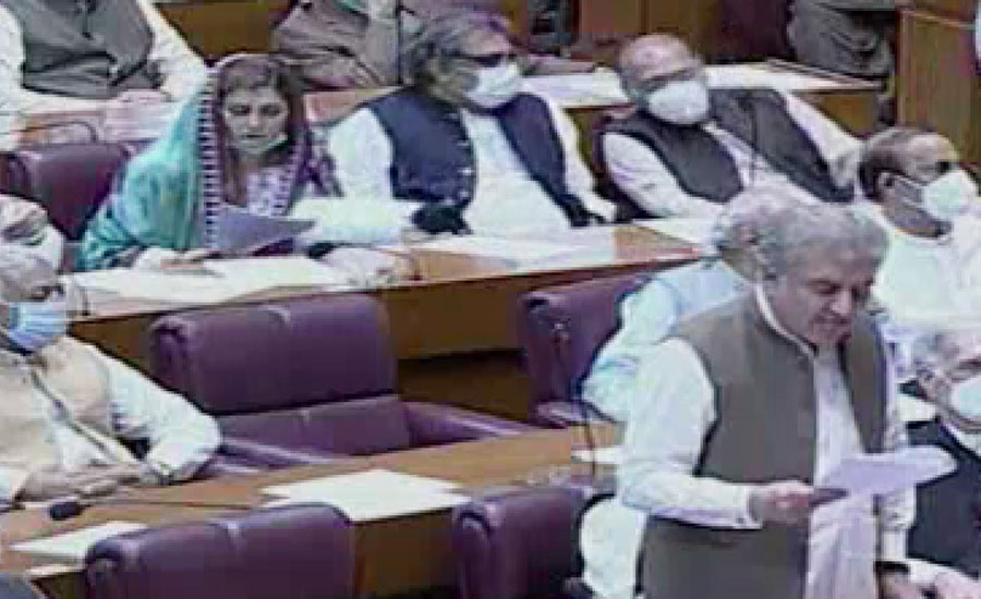 پارلیمنٹ کے مشترکا اجلاس میں کشمیریوں پر مظالم کیخلاف قرارداد متفقہ منظور