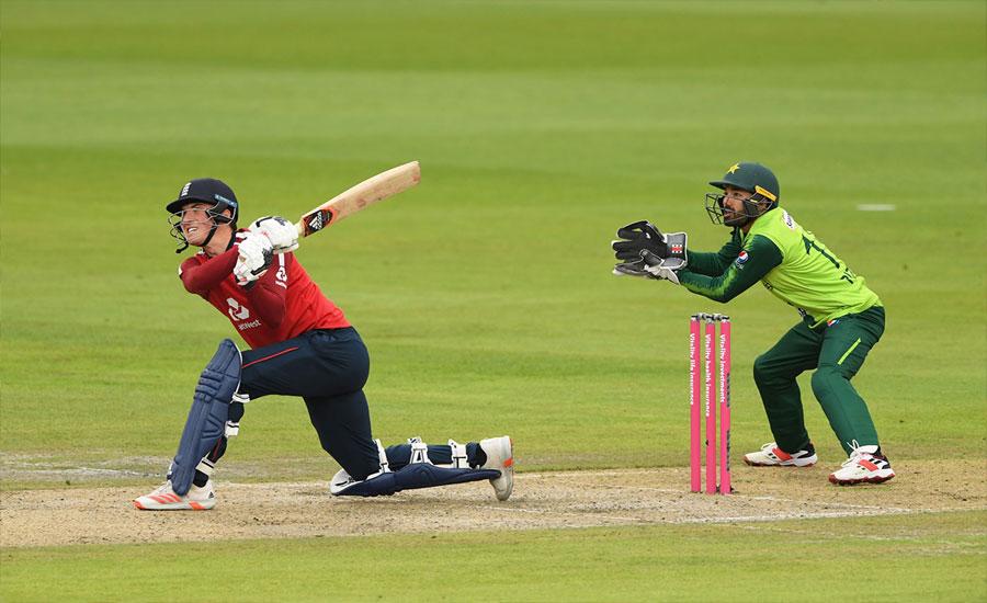 پاکستان اورانگلینڈ کے درمیان پہلا ٹی ٹوئنٹی بارش کے باعث منسوخ