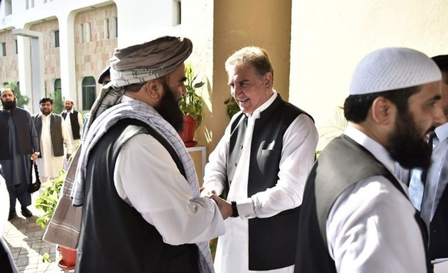 افغان طالبان وفد ملا عبدالغنی برادر کی قیادت میں اسلام آباد پہنچ گیا