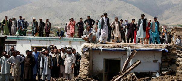 افغانستان ، شدید بارشوں ، سیلاب سے تباہی ، ہلاکتیں 160 ہوگئیں ، کابل ، 92 نیوز