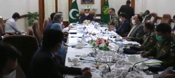 وزیر اعلیٰ بزدار ، لاہور ، مسائل کے حل ، وزارتی کمیٹی قائم ، 92 نیوز