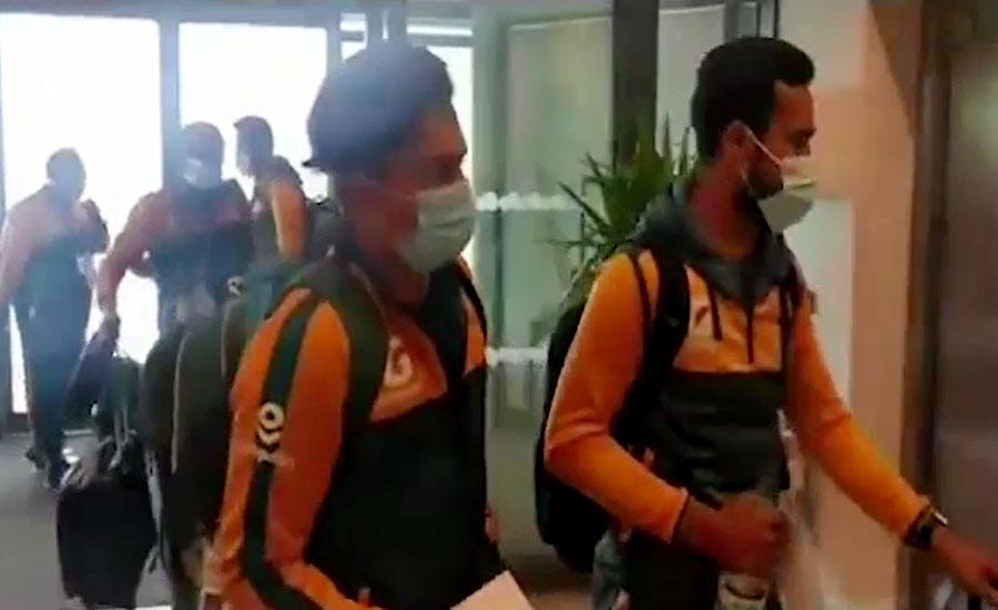 پاکستان کرکٹ ٹیم کے مانچسٹر میں ڈیرے، آج پریکٹس کرے گی