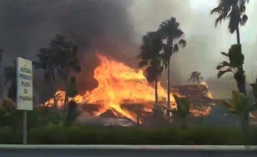 اسپین کے جنگلوں میں لگی آگ بے قابو ہوگئی